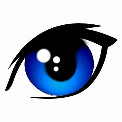 Eyes Eye Clip Clipart Vector Anime Sad