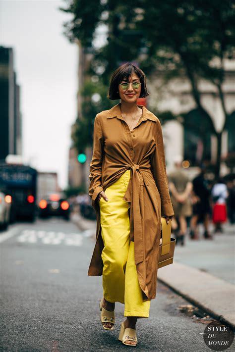 york ss  street style liz uy style du monde