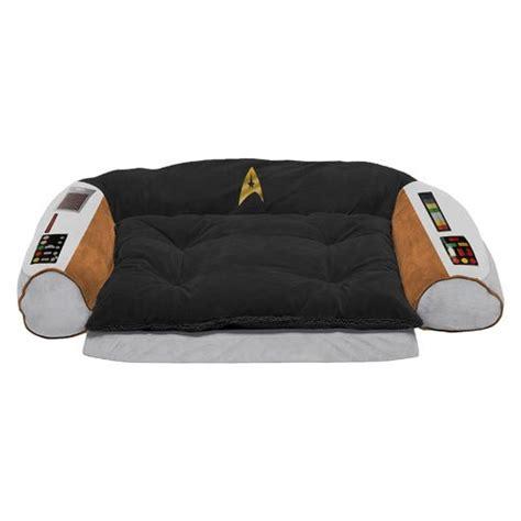 trek captains chair pet bed trek original series captain s chair bed