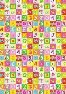 Letters and numbers scrapbook paper for Scrapbooking letters and numbers