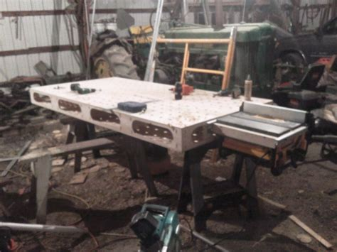 portable table  outfeed table tools equipment