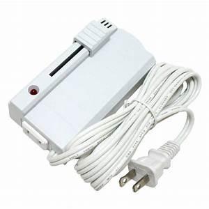 Satco 91069 white floor slide lamp dimmer elightbulbscom for Floor lamp sliding dimmer switch