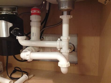 Will this drain? (AAV in island)   Terry Love Plumbing