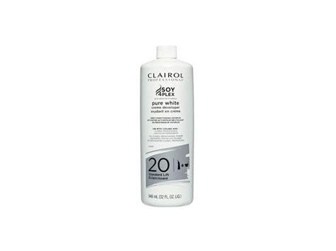 Clairol Soy4plex Pure White Developer, 20 Standart Lift