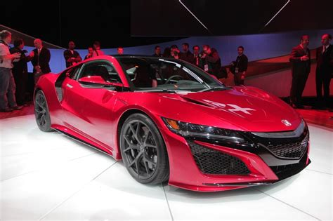 naias 2015 2016 acura nsx revealed at last the truth