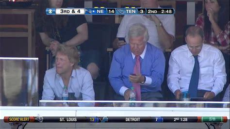 Jon Bon Jovi New England Patriots