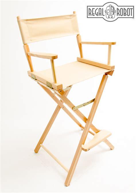30 quot bar height directors chair regal robot