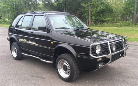 volkswagen golf country chrome syncro   miles