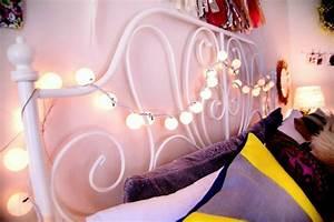 Lichterkette Im Zimmer : 49 ideen f r dekoration mit party lichterkette ~ Markanthonyermac.com Haus und Dekorationen