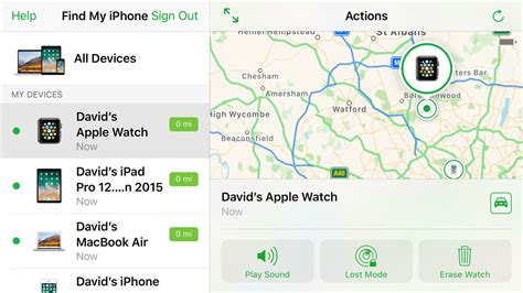 find my iphone for mac how to find a lost apple watch macworld uk Find