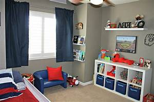 Redecor your design of home with good toddler bedroom for Ideas for boys bedrooms