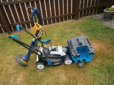 Electric Lawn Mower And Grass Trimmer For Sale
