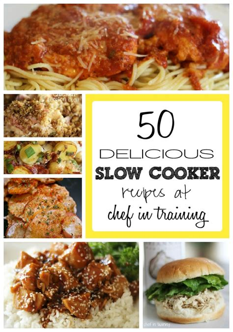 50 cooker recipes chef in