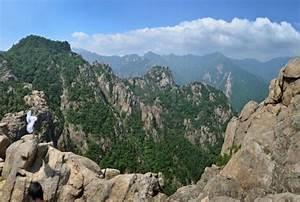 Landscape of South Korea.