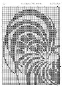 Free Printable Rooster Cross Stitch Patterns