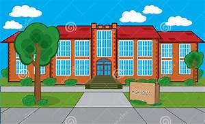 School Building Clip Art Many Interesting Cliparts