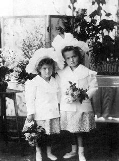 Grand Duchess Tatiana Nikolaevna Of Russia As A Red Cross