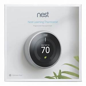 Google - Nest Learning Thermostat - 3rd Generation