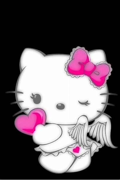 Kitty Hello Angel Wallpapers Demon Fondos Artist