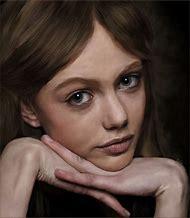 Realistic Digital Art Portrait