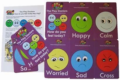 Emotions Keyring Closed