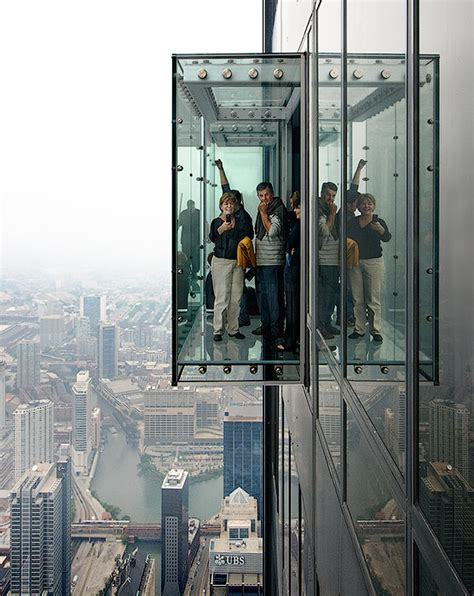 Sears Tower Observation Deck by Observation Deck Skydeck Ledge At The Willis Sears