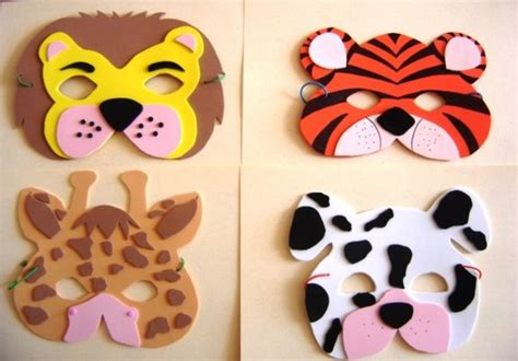 Como hacer una mascara de tigre de Bengala Imagui