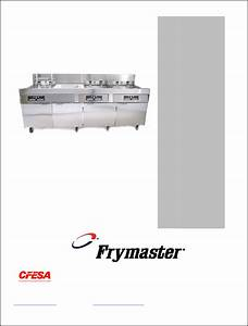 Frymaster Fryer 2836 Series User Guide