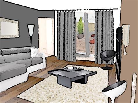 acheter un canape comment aménager un salon à partir d 39 un espace vide