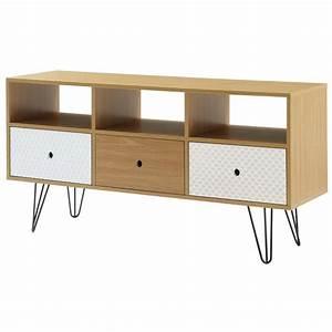 Meuble Tv En Hauteur : meuble tv 60 cm hauteur achat vente pas cher ~ Teatrodelosmanantiales.com Idées de Décoration