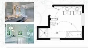 Plan de salle de bain 15 idees du rustique au moderne for Salle de bain design avec plan pour salle de bain