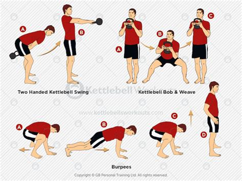 workouts kettlebell mma fighters swing burpees weave bob strength power endurance uses