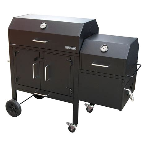 Grill Landmann by Landmann 174 590135 Black Charcoal Grill And Smoker