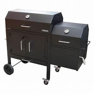 Landmann Tisch Gasgrill : landmann 590135 black dog 42xt charcoal grill and smoker ~ Whattoseeinmadrid.com Haus und Dekorationen