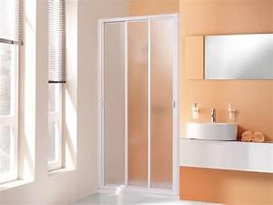Duschtür 80 Cm : duscht r 180 cm hoch schiebet r 3 teilig echtglas oder kunststoff ~ Orissabook.com Haus und Dekorationen