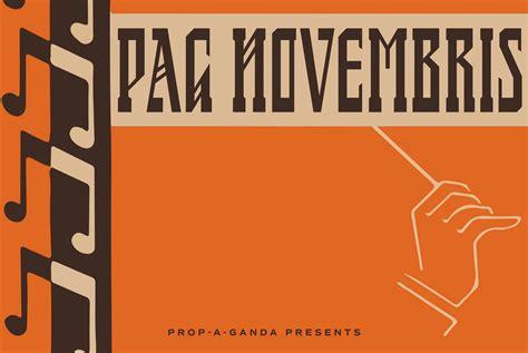PAG Novembris - Desktop Font & WebFont - YouWorkForThem