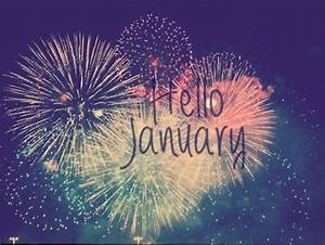 Hello January Tumblr | Months - 1-6 Hello and Goodbye ...