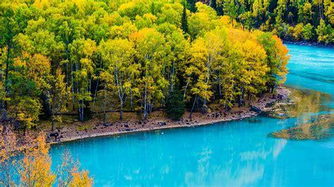 Kanas Lake Xinjiang China Travel Photo Hd Wallpaper