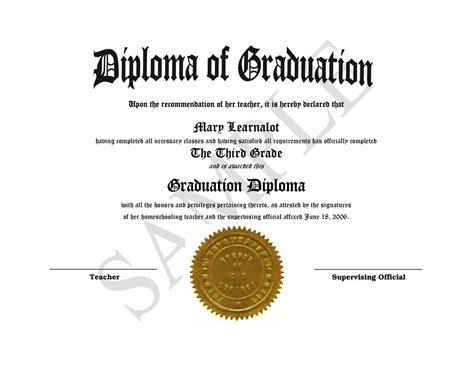 diploma template homeschooling diplomas easy template for home school awards diplomas