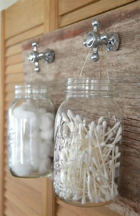 diy recycled bathroom organizer my creative days