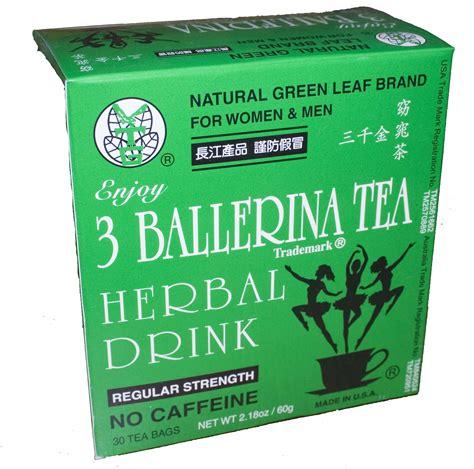 3 Ballerina Tearegular Strength 30 Bagsbox