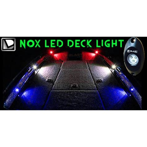 Bass Boat Led Deck Lights by Nox Series Bass Boat Led Deck Light 8 Pc Multi Color Rgb