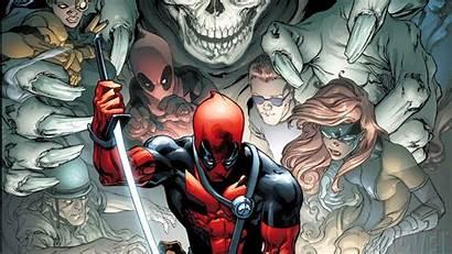 Deadpool Wade Comics Marvel Wilson Wallpapers