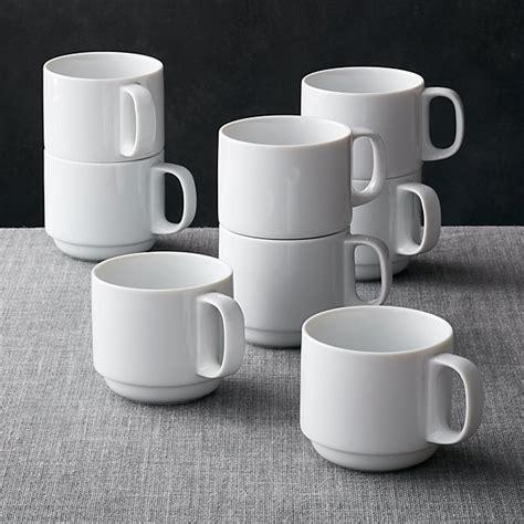 logan stacking mugs set   reviews crate  barrel