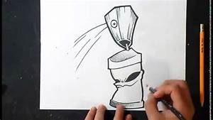 comment dessiner bombe de peinture 21 graffiti youtube With bombe de peinture graffiti
