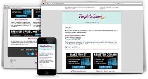 html mail template free whmcs templates themes for web hosting resellers