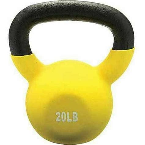 kettlebell yellow