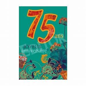 Cadeau Pour Homme Anniversaire : carte joyeux anniversaire 75 ans cadeau maestro ~ Teatrodelosmanantiales.com Idées de Décoration