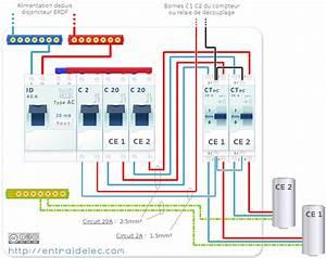 Raccordement Electrique Chauffe Eau : 2 ballons raccorder contacteur hp hc ~ Nature-et-papiers.com Idées de Décoration