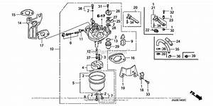 Honda Engines Gx160u1 Smx4 Engine  Jpn  Vin  Gcack